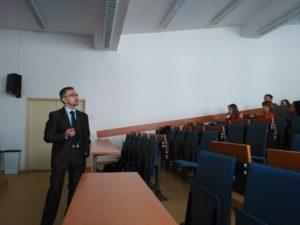 David Vozák přednáška vysoká škola