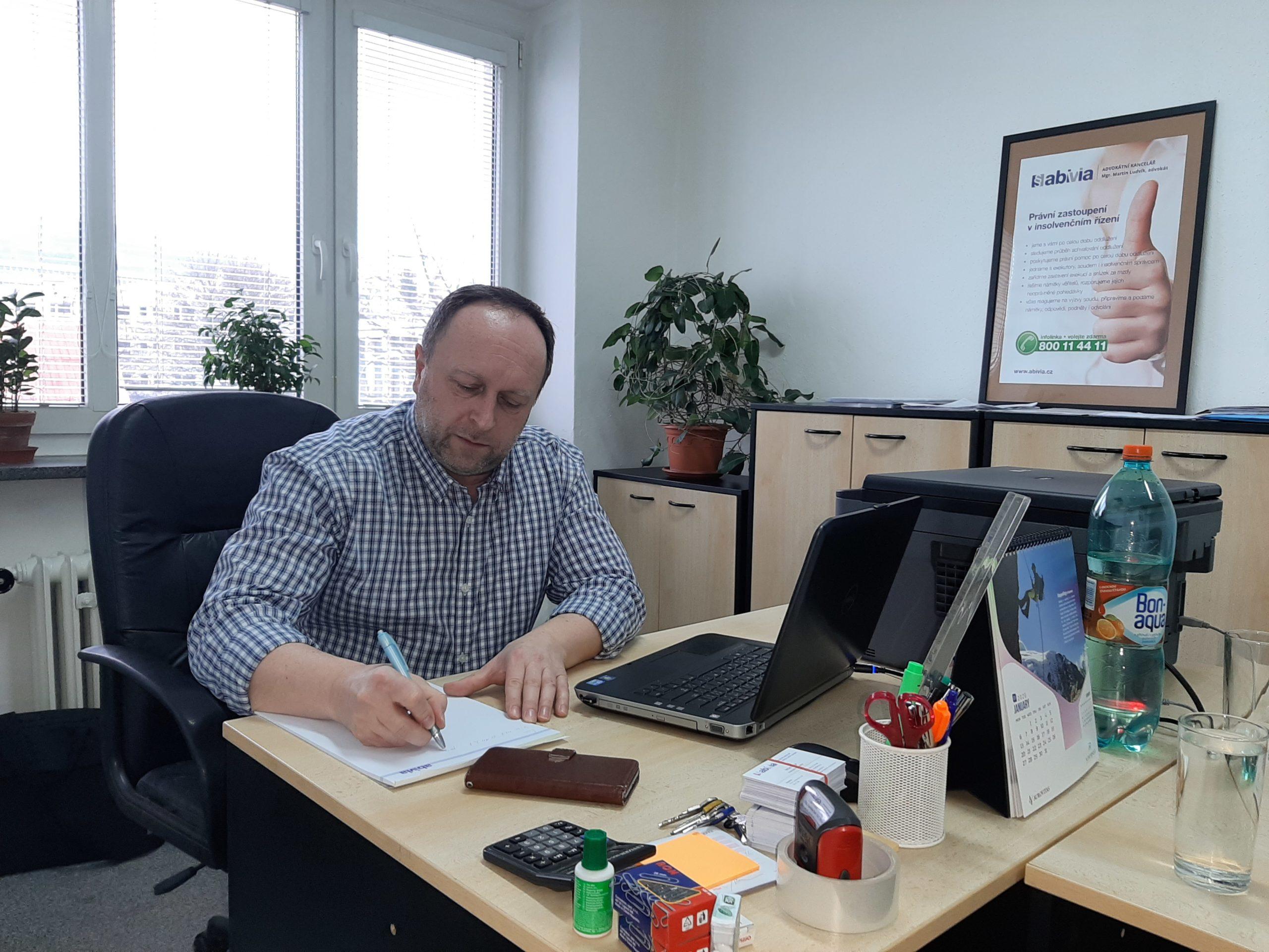 Milan Vozár Abivia oddlužení a insolvence Zlín