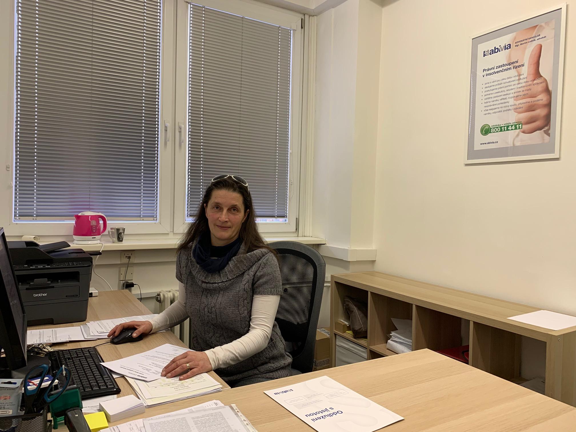 Jiřina Jelenová insolvence Karlovy Vary
